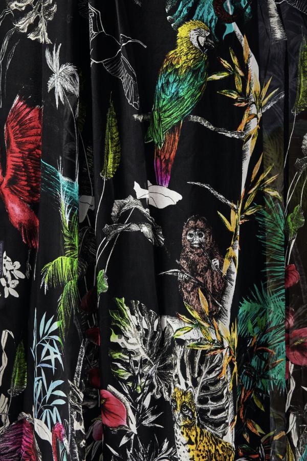 Matthew Williamson Midnight Jungle Silk Gown 4