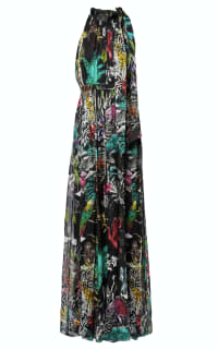 Matthew Williamson Midnight Jungle Silk Gown Preview Images