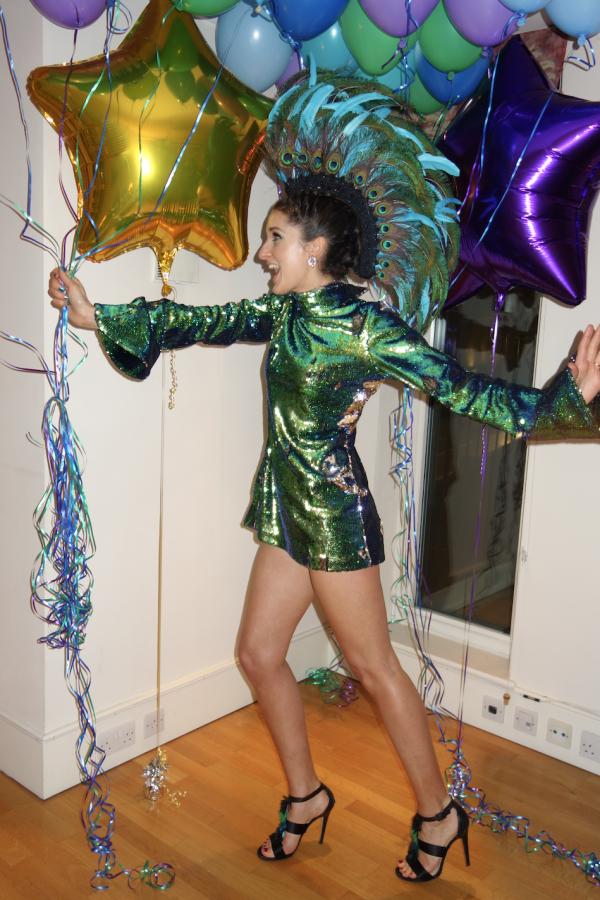Halpern Sequin Embellished Top 5