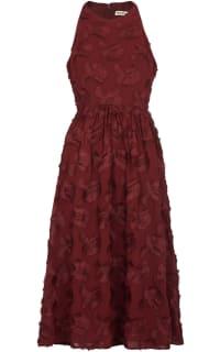 Whistles Appliqué Textured Dress Preview Images