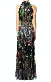 Matthew Williamson Midnight Jungle Silk Gown 3 Preview Images