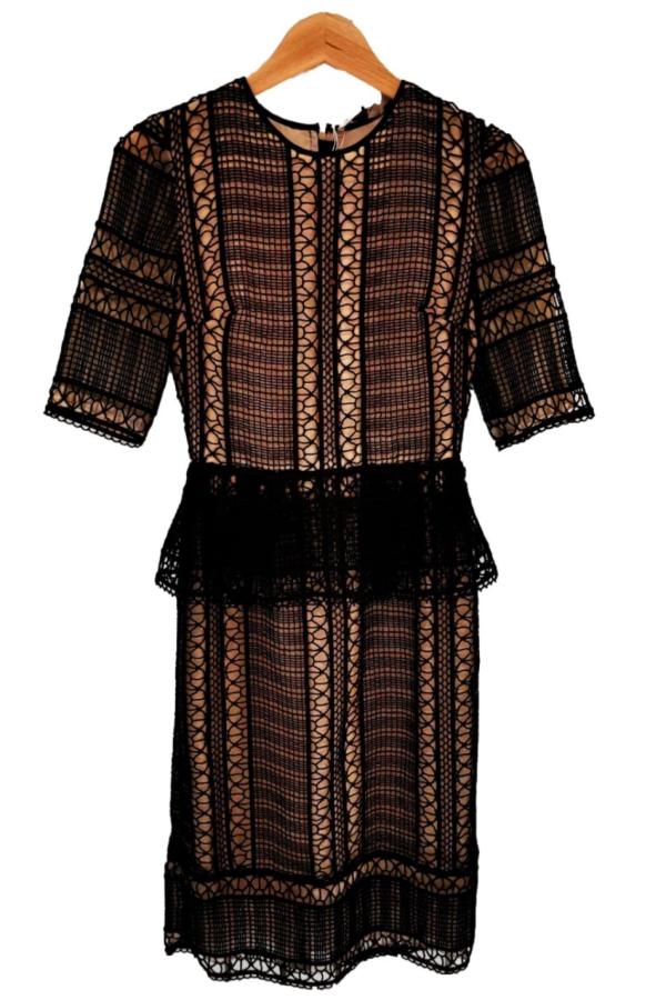 Erdem Bodycon Lace Dress 0 Preview Images