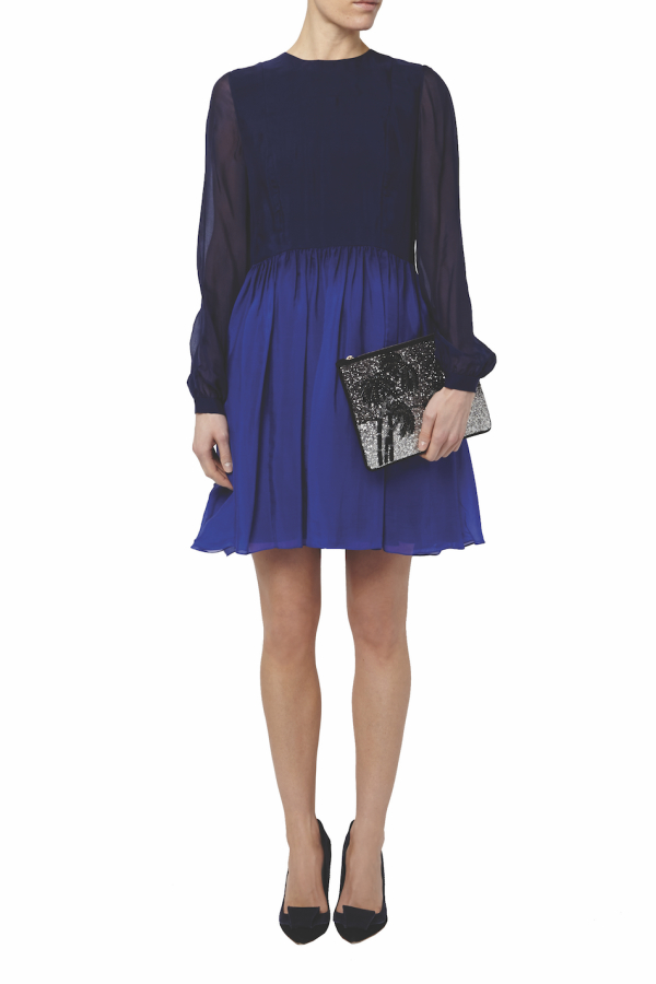 Matthew Williamson Ombre Mini Dress