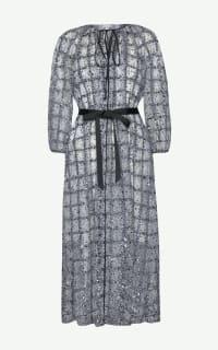 Huishan Zhang Luna Sequin Dress Preview Images