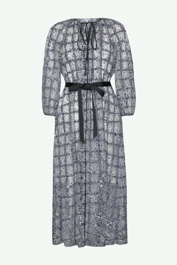 Huishan Zhang Luna Sequin Dress