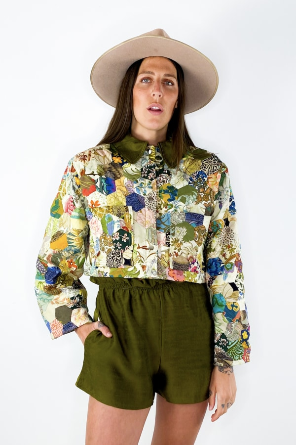 Image 3 of Magpie Vintage 1920s cropped jacket