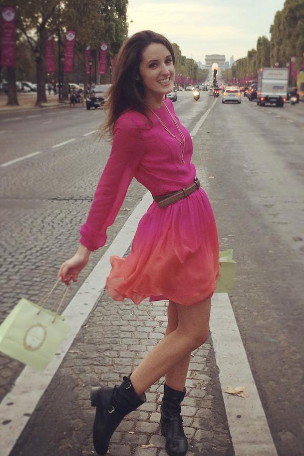 Matthew Williamson Ombre mini dress 2