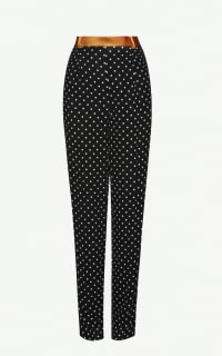 Haider Ackermann Polka Dot Cotton Trousers Preview Images