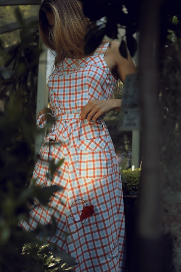 Image 2 of Revive revived 60's pinafore dress