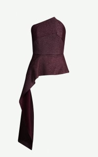 Roland Mouret Linnet asymmetrical top Preview Images