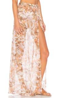 For Love and Lemons Havana Chiffon Skirt 3 Preview Images