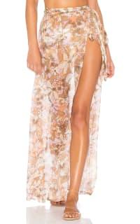 For Love and Lemons Havana Chiffon Skirt 2 Preview Images