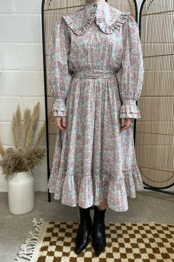 Sigrid Maria Sigrid dress - pink blossom 1 Preview Images