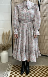 Sigrid Maria Sigrid dress - pink blossom 3 Preview Images
