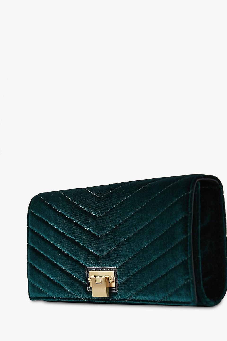 Reiss Velvet Audley Clutch 3 Preview Images