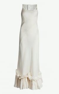 Phaedo Ruffle Hem Midi Dress Preview Images