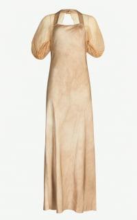 Phaedo Silk Woven Maxi Dress Preview Images