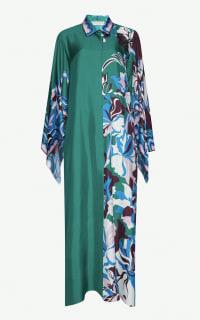 EMILIO PUCCI - FLORAL PRINT SHIRT DRESS