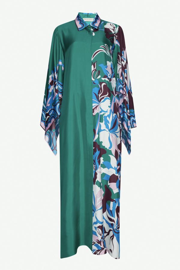 Emilio Pucci Floral Print Shirt Dress