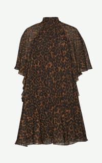 Erdem Elviretta leopard-print dress Preview Images