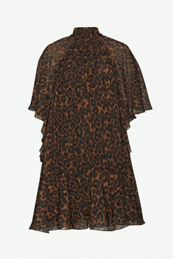 Erdem Elviretta leopard-print dress