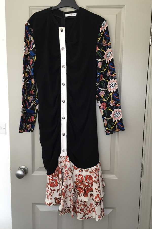 JW Anderson Floral Ruffle Dress 3