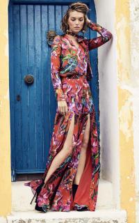 Matthew Williamson Silk Chiffon Maxi Skirt 3 Preview Images