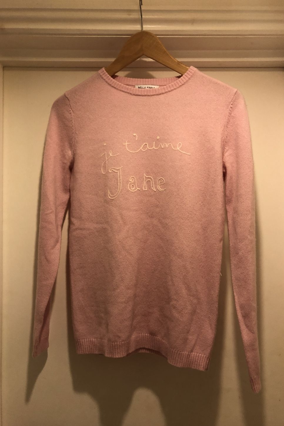 Bella Freud Je T'aime Jane Jumper 2 Preview Images
