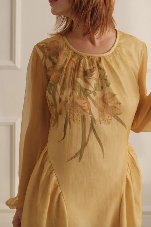 Lora Gene The Floral Thalia Dress 2