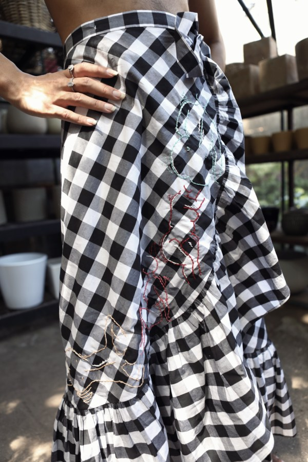 Image 1 of Revive revived secondhand wrap skirt