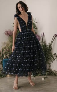 Sau Lee Heather Heart Tulle Dress 3 Preview Images