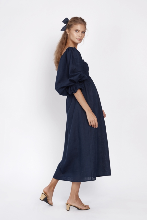 Sleeper ATLANTA linen dress 2