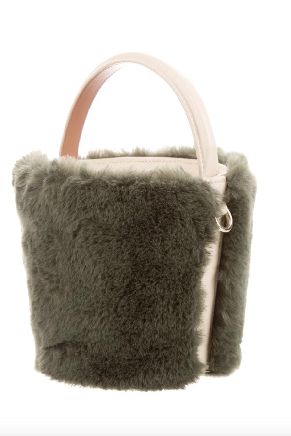 Cafune Mini Basket Bag - Fur 4