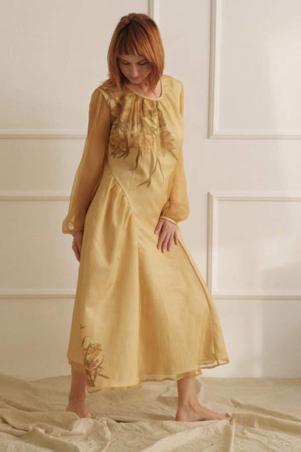 Lora Gene The Floral Thalia Dress 3