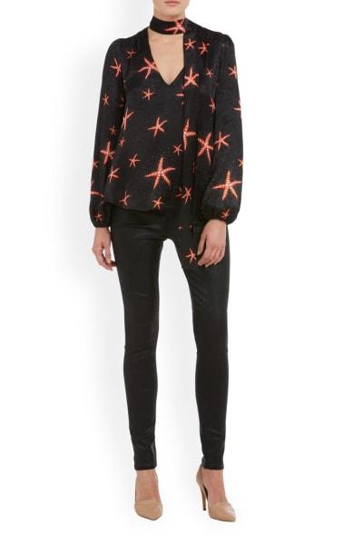 RIXO London Moss – Starfish Black Coral 2