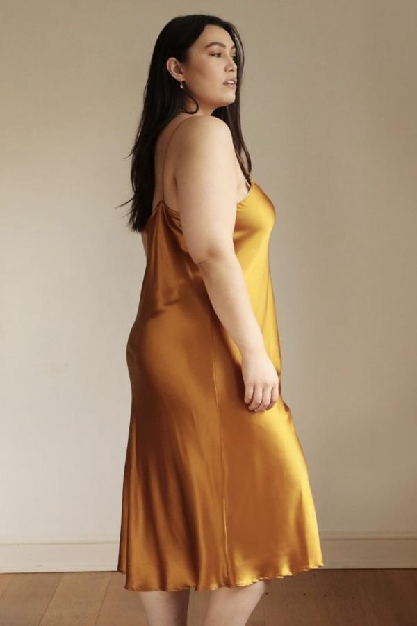 Lora Gene Midi Slip Dress 1 Preview Images