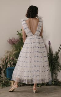 Sau Lee Heather Heart Tulle Dress 4 Preview Images