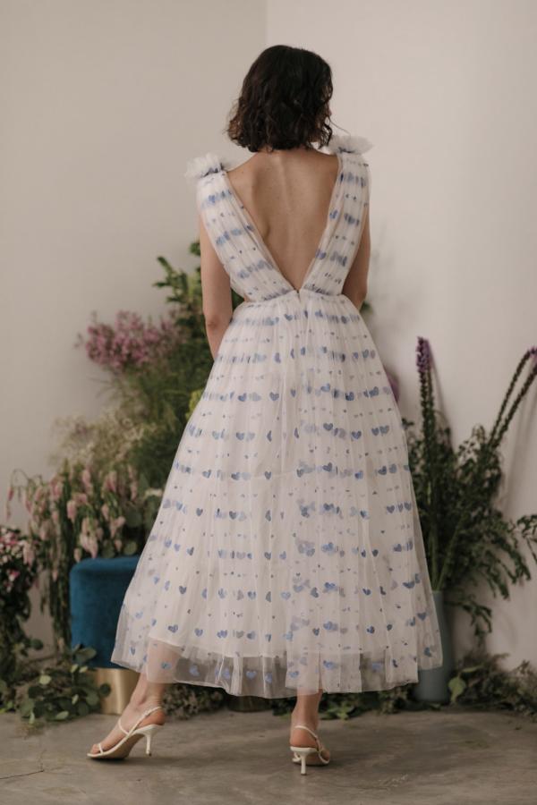 Sau Lee Heather Heart Tulle Dress 4