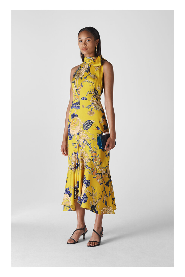 Whistles Peria Exotic Floral Dress 3