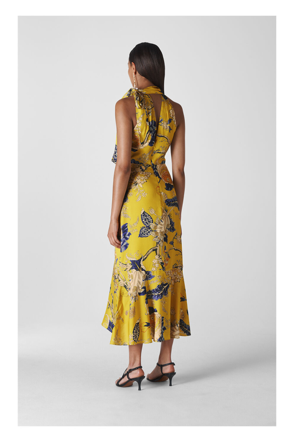 Whistles Peria Exotic Floral Dress 2