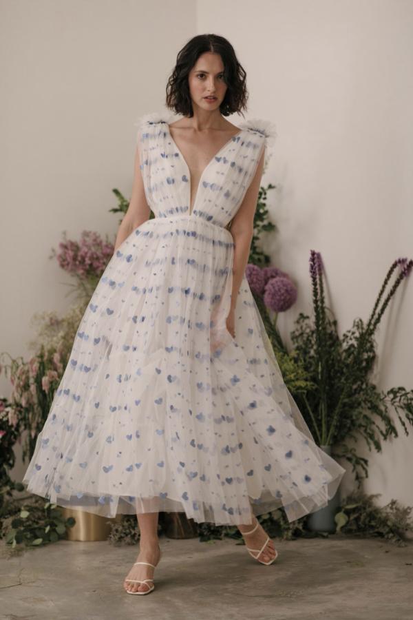 Sau Lee Heather Heart Tulle Dress 3