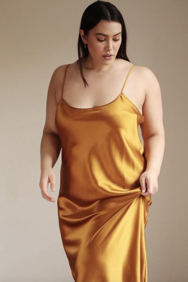 Lora Gene Midi Slip Dress 2 Preview Images