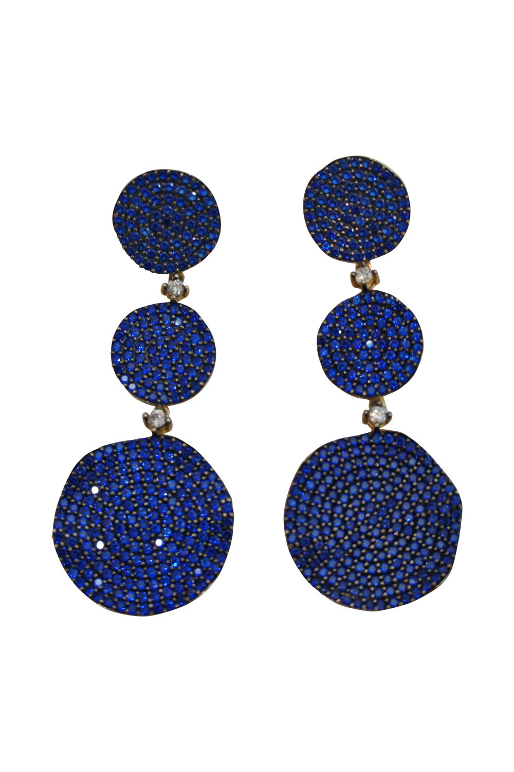 JCM London Sapphire Blue Earrings Preview Images