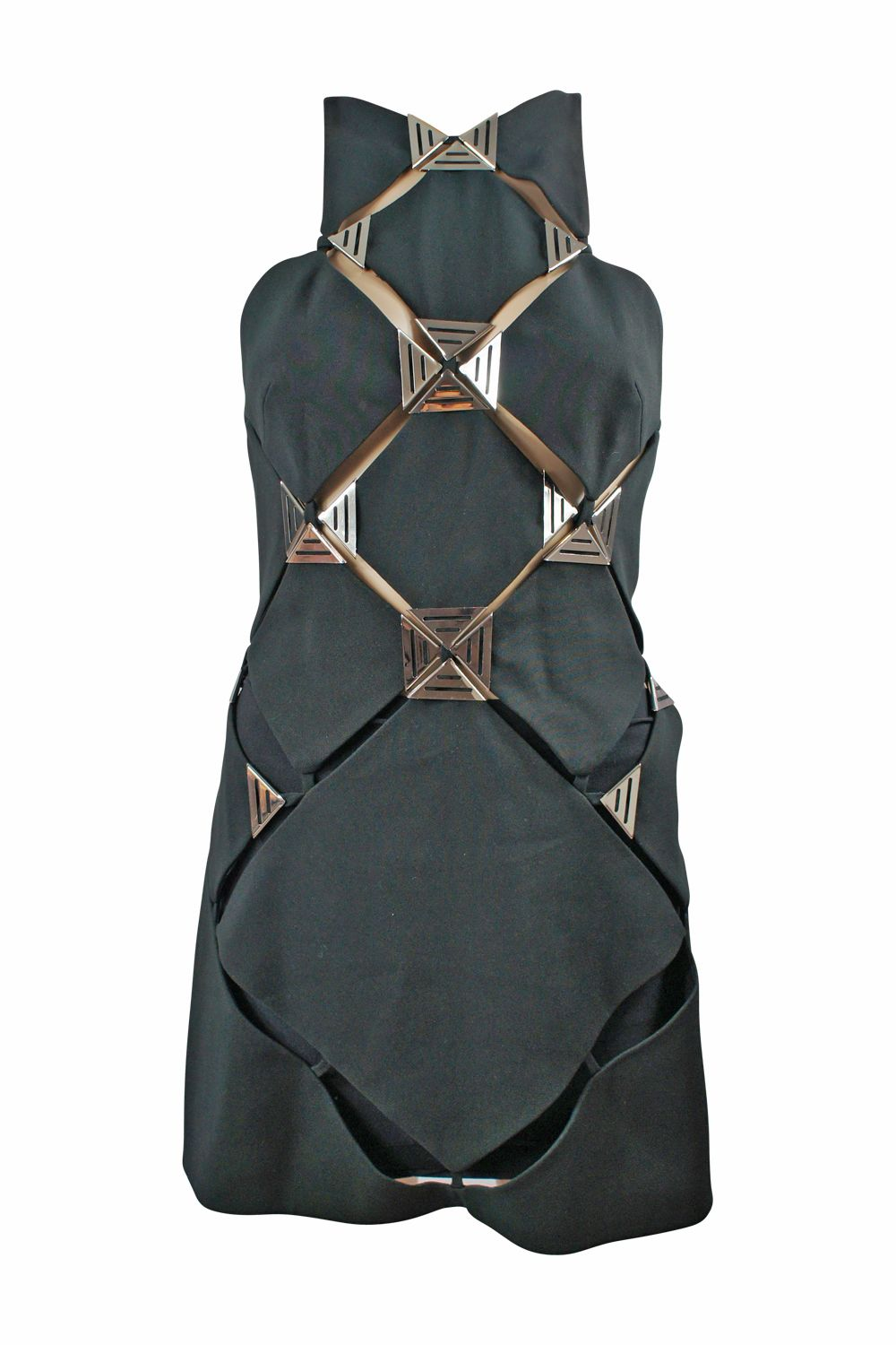 Thierry Mugler Panel Mini Dress 4 Preview Images