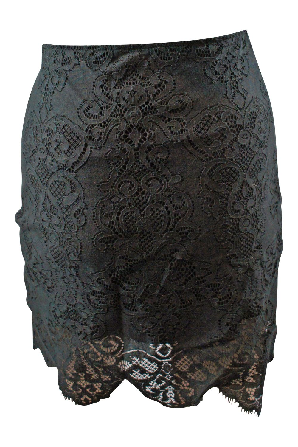 For Love and Lemons Black Lace Lolo Skirt 2 Preview Images