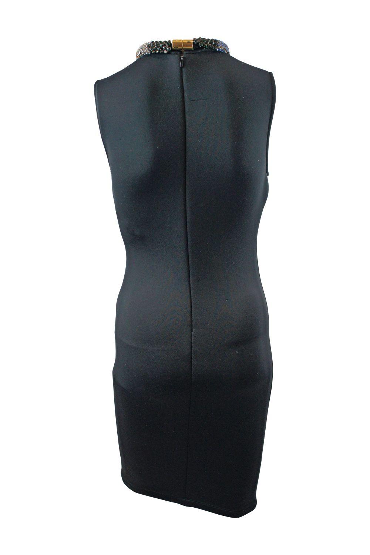 Alexander McQueen Black Sleeveless Beaded dress 2 Preview Images