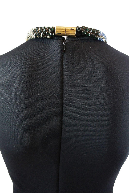 Alexander McQueen Black Sleeveless Beaded dress 3 Preview Images