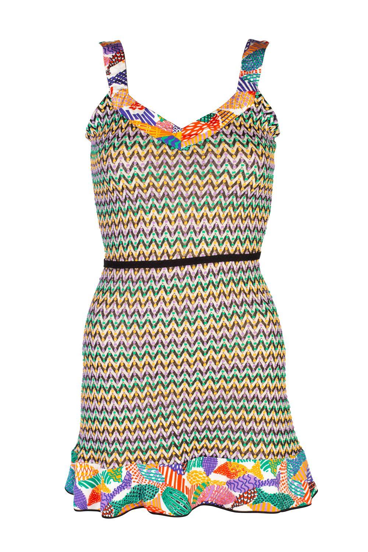 Missoni Pattern Mini Dress 3 Preview Images