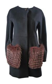 Cinzie Rocca Fur Trip Coat 2 Preview Images