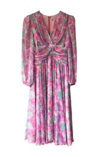 Vintage Floral dress Preview Images